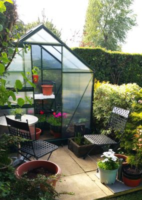 Gardman 6ft x 4ft Traditional Aluminium Frame Greenhouse