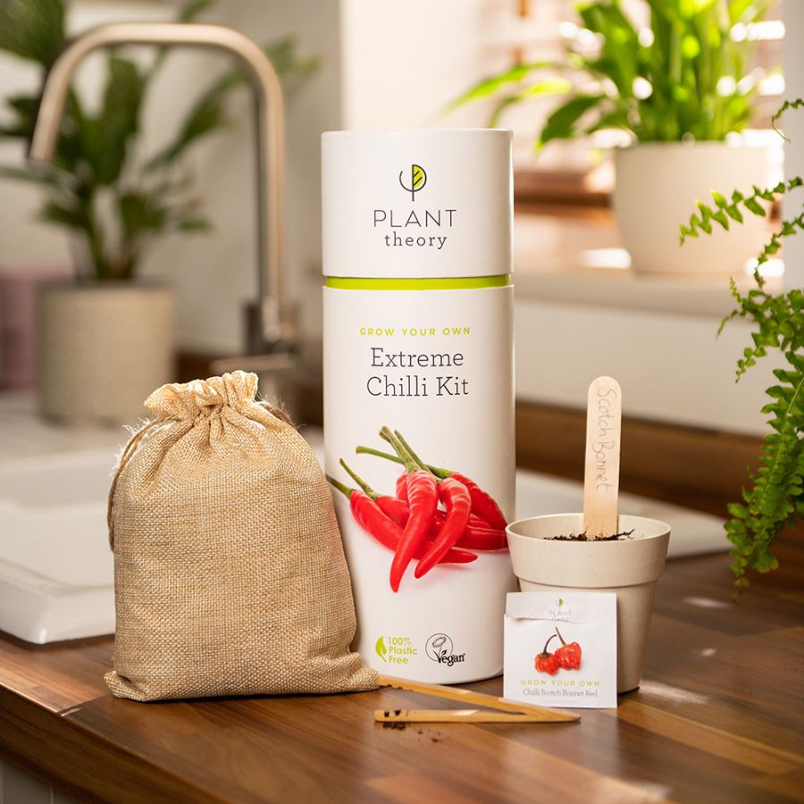 Grow Your Own Extreme Chilli Kit | By Plant Theory