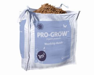 Pro-Grow Peat-free Woodchip - 1m3 Bulk Bag