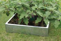 Galvanised Raised Garden Bed 90cm x 90cm