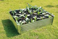 Galvanised Raised Garden Bed 90cm x 120cm