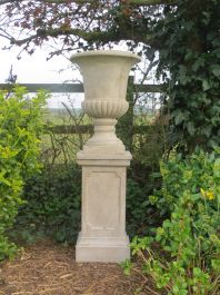 Redmile Urn Planter in Stone Colour H76cm x D56cm