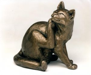 Horatio Cat Sculpture