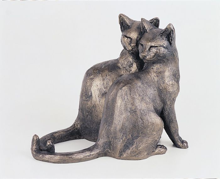 Sage And Thyme Cats Sculpture