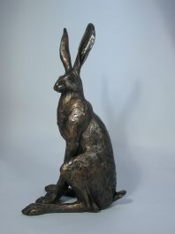 Sitting Hare Sculpture - Large