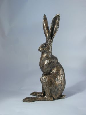 Sitting Hare Sculpture - Medium