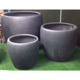Cup Planter Set - Charcoal 110cm (3ft 7in)