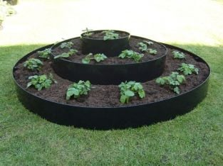 Large Tiered Circular Raised Bed - D1.15m