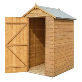 4ft x 4ft Modular Timber Shed by Rowlinson