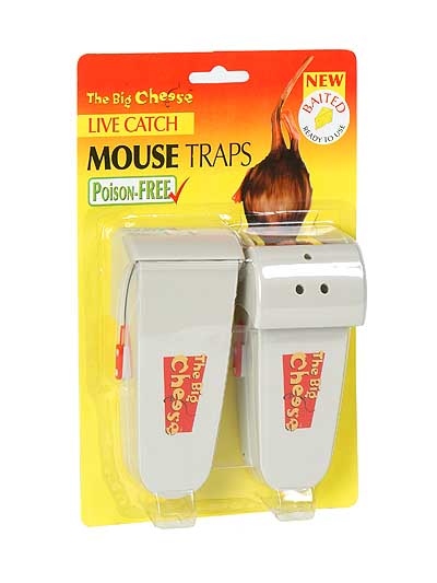 The Big Cheese Humane Mouse Trap - set of two single