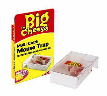 The Big Cheese Humane Pre-baited Multicatch Mouse Trap