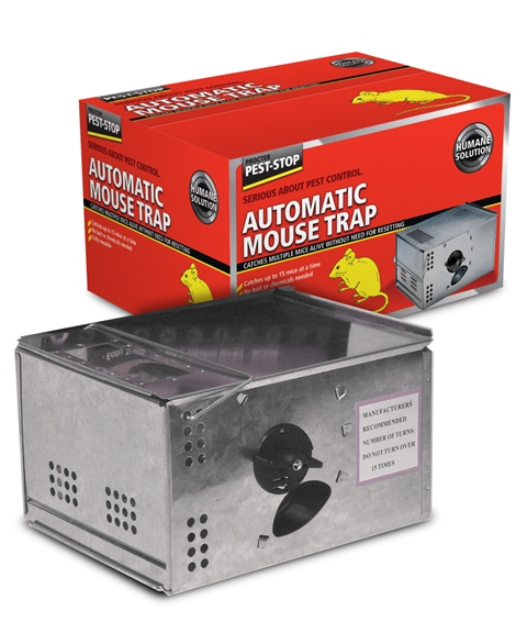Procter Pest-Stop Automatic Metal Mousetrap