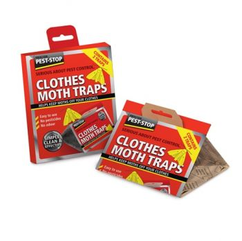 Procter Pest-Stop Clothes Moth Trap (Pack of 2)