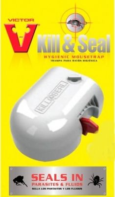 Victor® Kill & Seal Mouse Trap Twinpack
