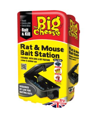 The Big Cheese Rat & Mouse Bait Station
