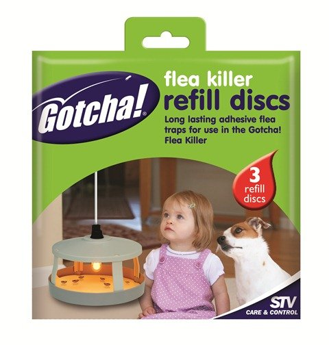 Flea Killer Refill Pad - 3 Pack