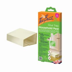 Household Pest Glue Traps - 4 Pack