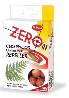 Cedarwood Clothes Moth Repeller - 24 balls