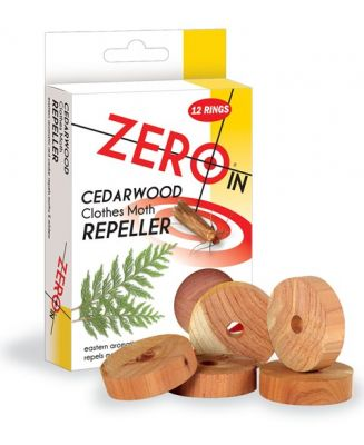 Cedarwood Clothes Moth Repeller - 12 Rings