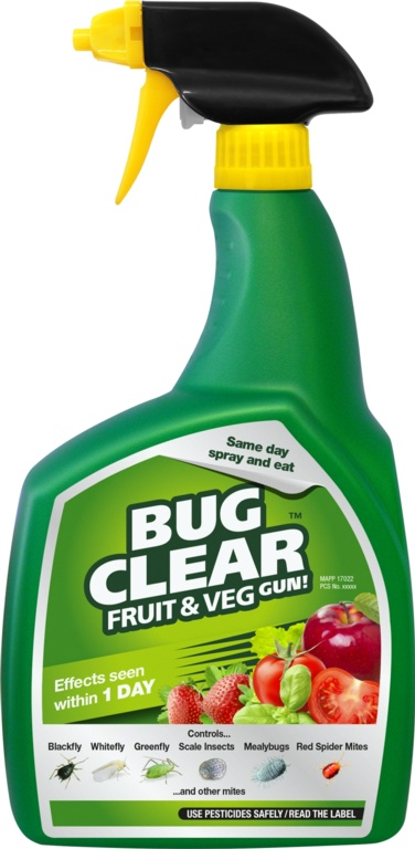 BugClear™ Spray Gun! for Fruits and Vegetables