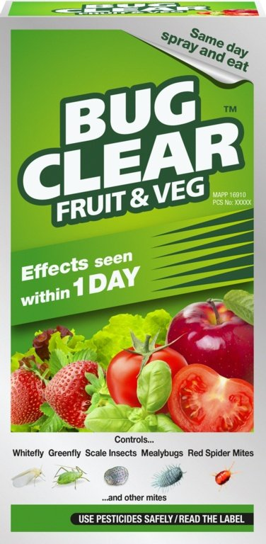 Concentrate Natural Insecticide for Fruits and Vegetables By BugClear™
