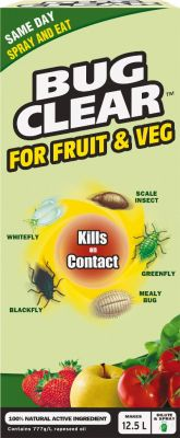 BugClear™ Concentrate Natural Insecticide for Fruits and Vegetables