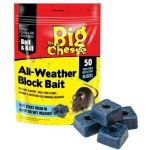 The Big Cheese All Weather Rodent Bait Blocks (Pack of 100)
