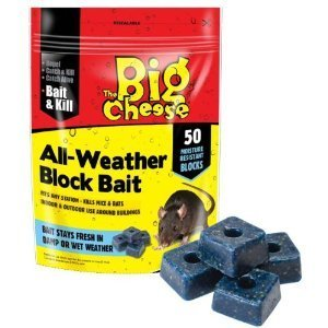 The Big Cheese All Weather Rodent Bait Blocks (Pack of 50)