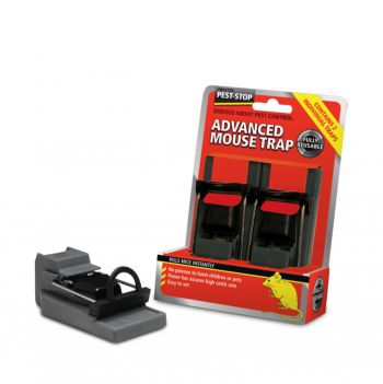Procter Pest-Stop Advanced Mouse Trap - Twin Pack