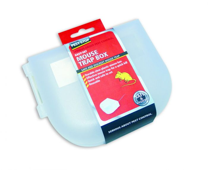 Procter Pest-Stop Easy-Set Mouse Trap Box