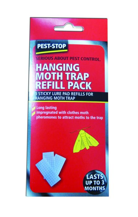 Procter Pest-Stop Refill Pack for Hanging Moth Trap