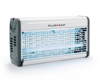30W White Electric Grid Fly Killer By PlusZap™