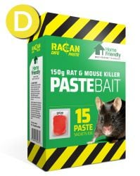 Rat & Mouse Home Friendly Paste - 15 x 10g - Racan Dife