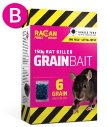 Rat Killer Grain 6 x 25g - Racan Force