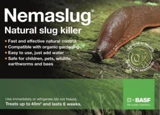 Nemaslug Natural Slug Killer 40 sqm