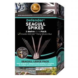Defender® Seagull Spikes 3 Metre Pack