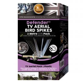 Defender® TV Aerial Bird Spikes 3 Metre Pack