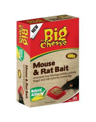 The Big Cheese Natural Rat and Mouse Killer