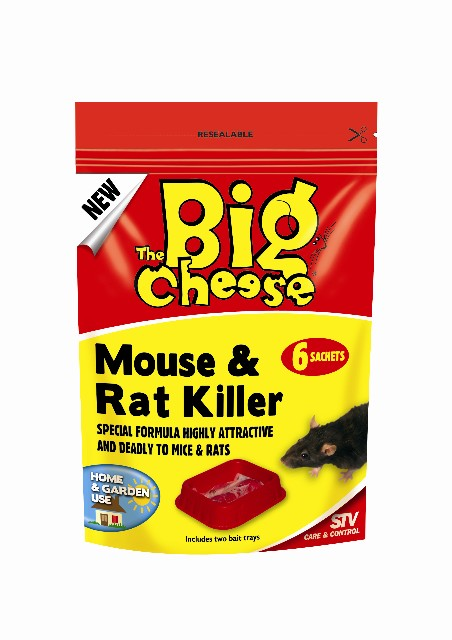 Mouse & Rat Killer - 6 Sachets