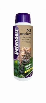 Cat Repellent Scatter Granules 450g by Defenders™