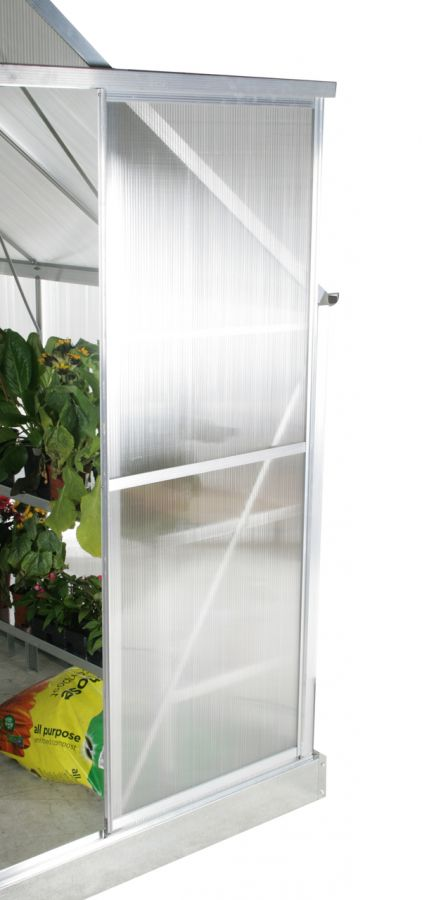 Lacewing™ 8ft x 10ft Deluxe Aluminium Frame Double Door Greenhouse