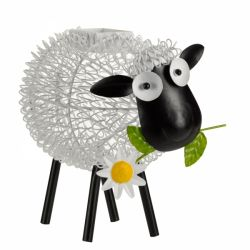 Solar LED Decorative Dolly Sheep Silhouette by Smart Garden