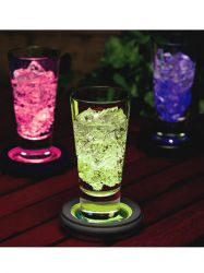 Smart Solar Colour Changing Coaster - 2 Pack