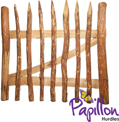 Split Hazel Garden Gate 1m x 1m - by Papillon™