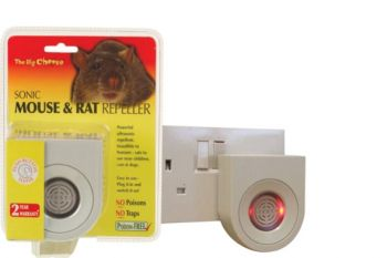 The Big Cheese Ultrasonic Pest Repeller Halo