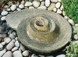 Swirler Granite Water Feature