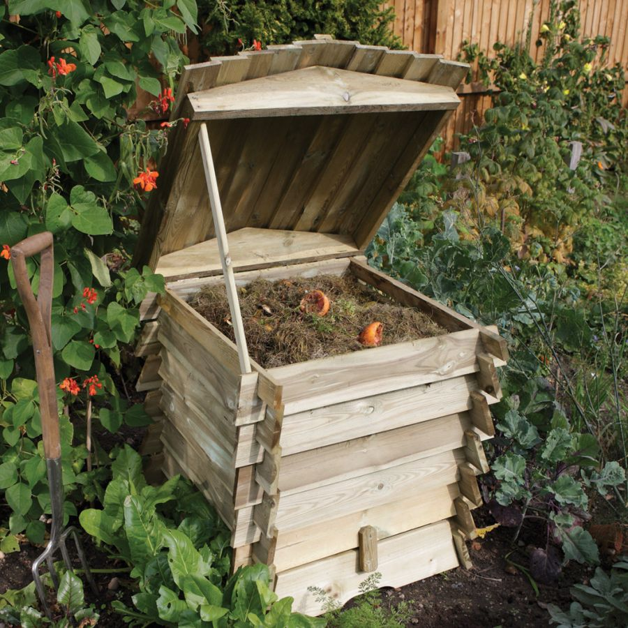 W74cm (30in) 211L Beehive Compost Bin by Rowlinson®