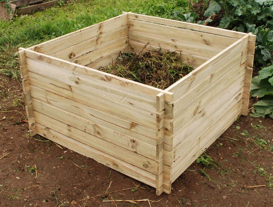 Wooden Composter: Large 893 Litres by Lacewing™