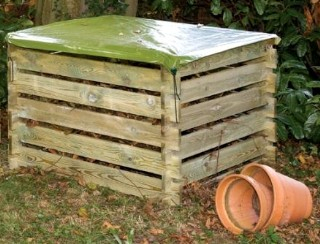 Cover For Wooden Composter
