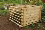 Easy-Load Wooden Compost Bin - Medium - 530 Litres - by Lacewing™